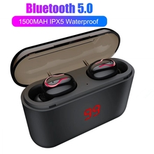 Buy TWS 5.0 Earphone Bluetooth Headphones Wireless Headphones For Samsung Fone De Ouvido Bluetooth For Airdots With Microphone directly from merchant!