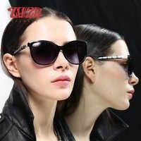 Gafas de sol de ojo de gato para mujer con diseño de marca 20/20