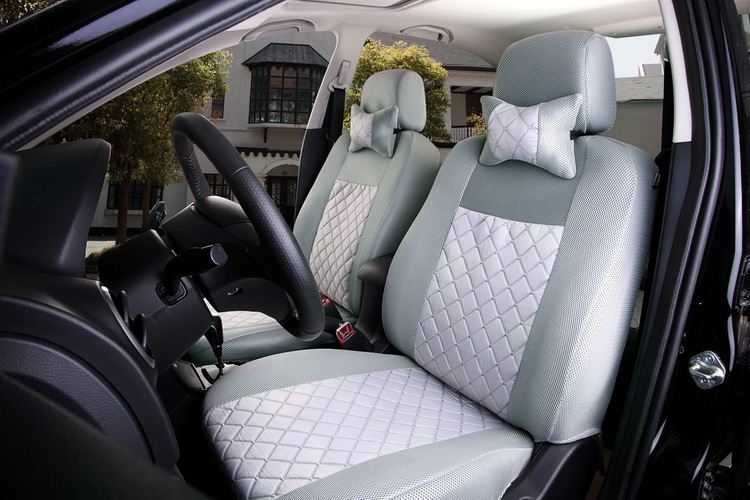 kwheel 4color silk breathable cushion customize car seat cover for ford focus fiesta f series. Black Bedroom Furniture Sets. Home Design Ideas