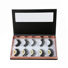 Empty square false eyelash packaging box fake 3d mink eyelashes boxes Container Holder Compartment Tool faux cils magnetic case(China)