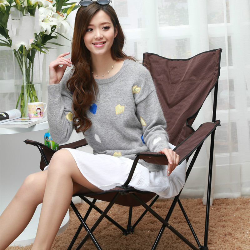 Outdoor Beach Folding Fishing Chair Portable Foldable Chair Leisure Reclining Chair Oxford Cloth Solid High Quality cadeira detachable folding reclining chair portable beach chair outdoor fishing chairs