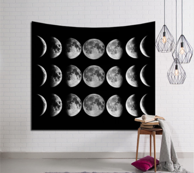 New Customize Galaxy Hanging Wall Tapestry Hippie Retro living room decoration Home Decor150*200cm/150*230cm/150x130cm/150x100cm