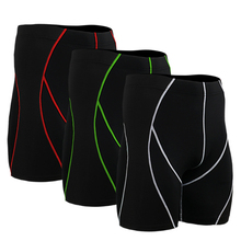No.1 Sale! wholesale polyester spandex compression swimming briefs shorts fitness men gym cycling biking shorts