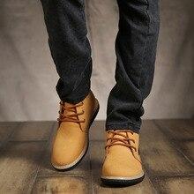Neue Mode Hohe Westlichen Unique Style Herren Desert Boots der Trend Nieten Spitze Up Echtes Wildleder Männer Arbeiten stiefel