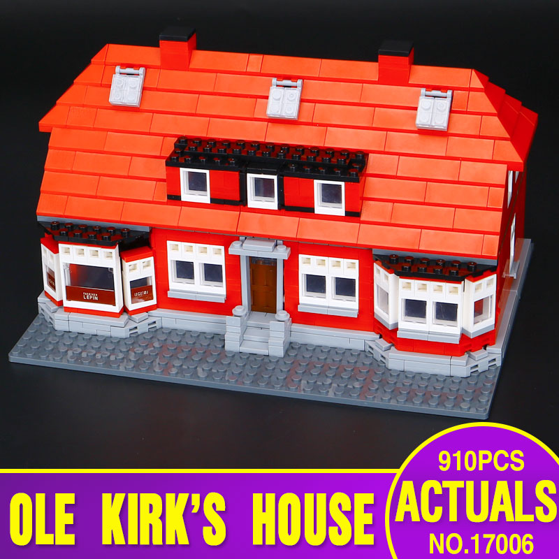 ФОТО Lepin 17006 928Pcs New Serier The Red House Set Education Building Kits Blocks Bricks Model Children Toys Gift 4000007