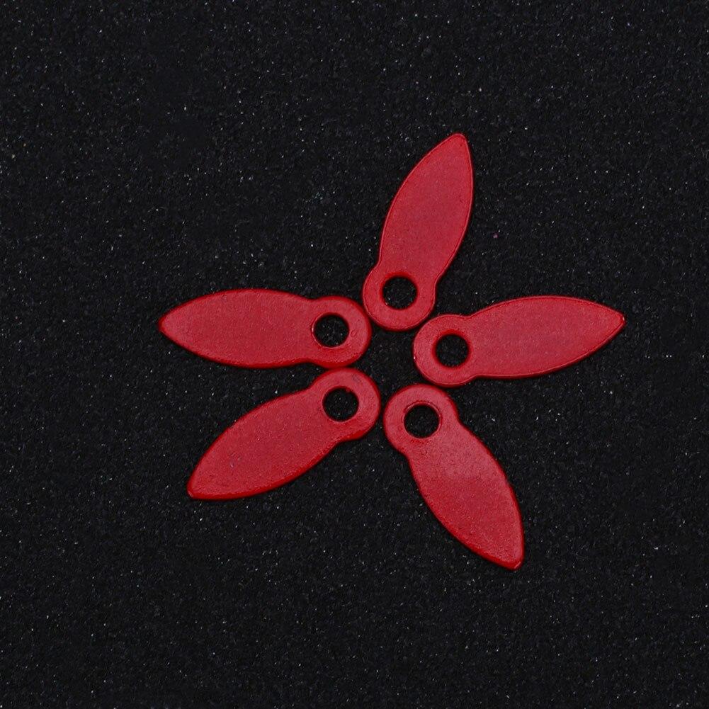 DIY 100 шт 17*7 мм вращающиеся Brads скрапбук отделка декором - Цвет: Красный