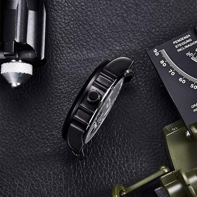 EYKI Niebieski bransoletka Zegarek biżuteria Luksusowy biznes Prosty - Męskie zegarki - Zdjęcie 4