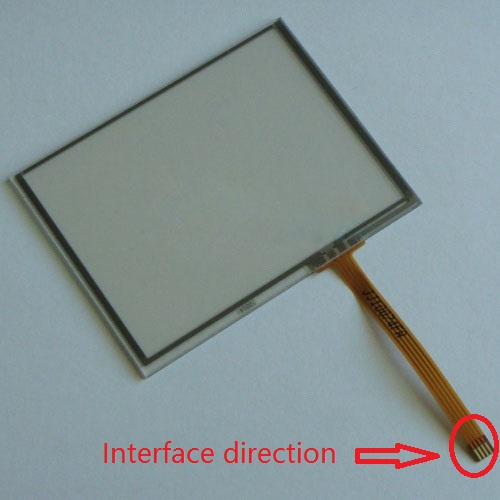 цены  New 3.5 inch 4Wire Resistive Touch Panel Digitizer Screen For Prestigio GeoVision 360 79*61mm GPS Free shipping