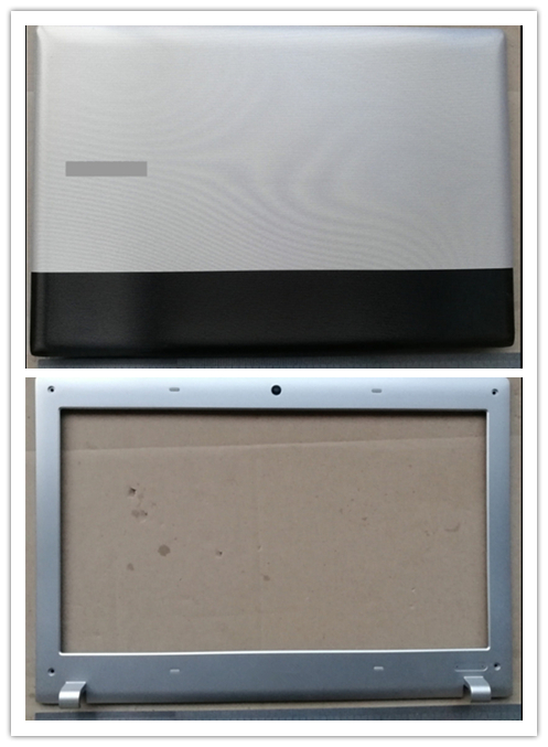 New laptop top case/frente lcd bezel capa para samsung RV411 RV415 RV420 RV409 E3420 E3415