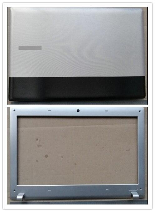 Novo portátil caso superior/lcd frente moldura capa para samsung rv411 rv415 rv420 rv409 e3420 e3415
