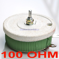 200W 100 OHM High Power Wirewound Potentiometer Rheostat Variable Resistor 200 Watts