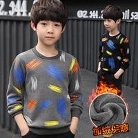 Brand 2018 New Children's T Shirts Boys Long Sleeve T Shirt Children's Tops Cotton Children Clothoes Kids Clothing