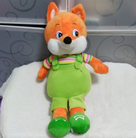 Russian Language Music Songs Plush Cute Fox Electronic Dolls Toys For Boy Girl Children Kids Baby
