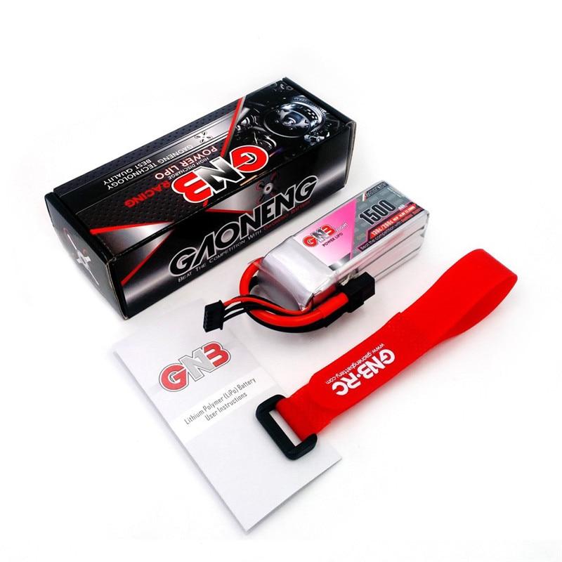 Gaoneng ГНБ 14,8 В 1500 мАч 130C/260C 4S Lipo Батарея XT60 разъем для Радиоуправляемый Дрон игрушки запасных Запчасти