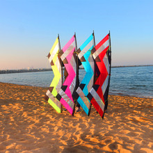 цена на free shipping high quality 2.1m quad Line traction Stunt kite flying albatross kites  for adults parachute kitesurf handles
