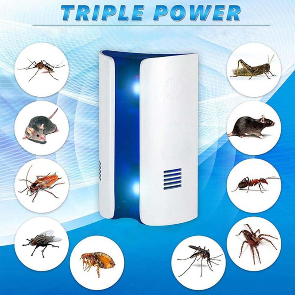 New Electric Ultrasonic Insect Mosquito Cockroach Repellent Killer Pest RepeIler(China)