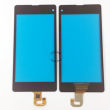 Black Touch Screen Digitizer Glass Lens Panel For Sony Xperia Z1 Compact Mini D5503 Touch Panel Sensor