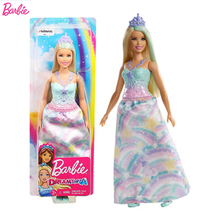 Original Barbie Mermaid Feature shimmer and shine The Girls Toys For Chilren Birthday Present Gift Boneca baby princess dolls цена 2017