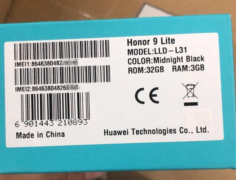 Honor 9 Lite honor9 lite 5.65