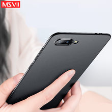 huawei honor 10 case MSVII Ultra Slim pc hard 360 Full Protection Back Cover View 20 10 case For Huawei Honor 9 lite 8 phone V20(China)