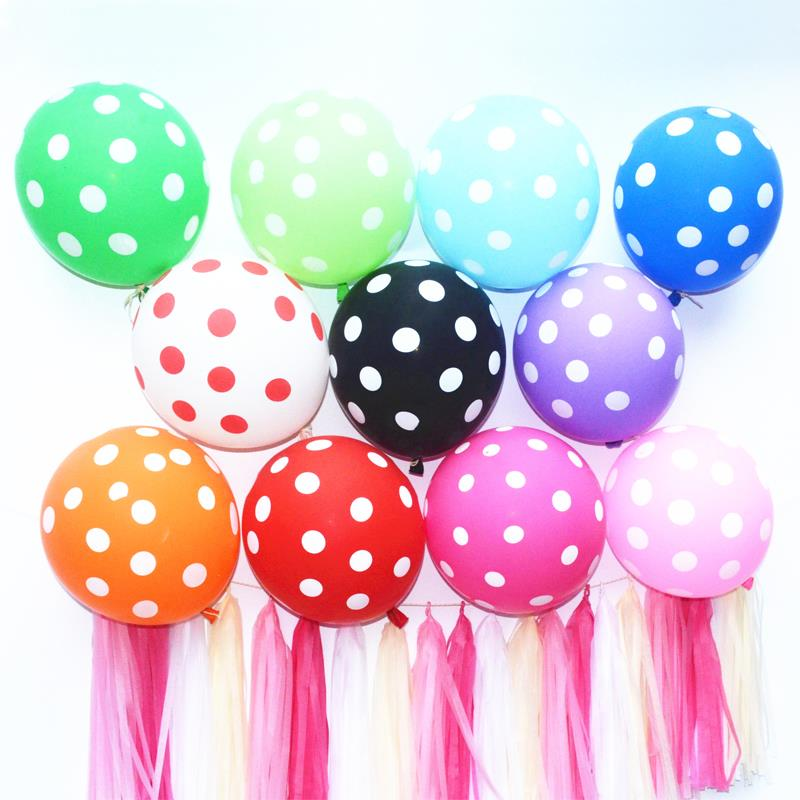 100pc/Lot 12 Inch 2.8g Party Latex Helium Balloons Thickening Pearl Wedding Party Birthday Balloon Multicolor Or Single Colors