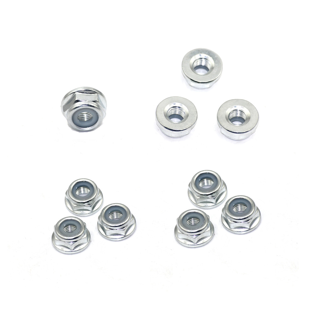 10pcs Blade Nuts Universal M10x1.25 Left Hand Thread Strimmer Brush Cutter Trimmer Gear Head Spare Parts