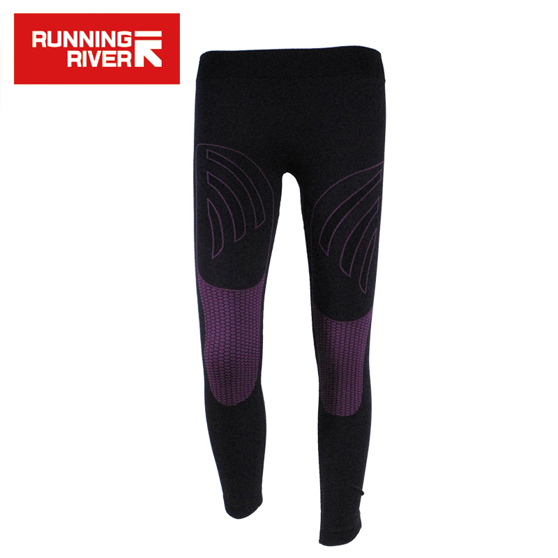 RUNNING RIVER Brand Thermal Pants For Female Nylon 2 Colour Sport Pant The Pressure Of Trousers Leggings Women Pants #V4604 title=