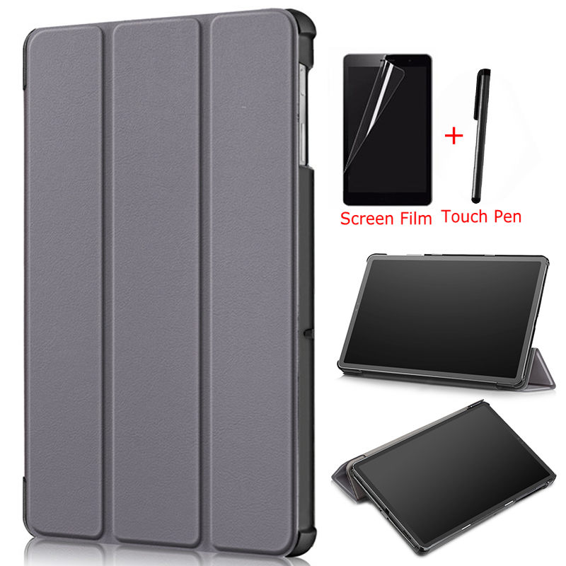 Ultra-thin Magnetic Smart PU Leather Cover for Samsung Galaxy Tab S5e SM-<font><b>T720</b></font> T725 10.5