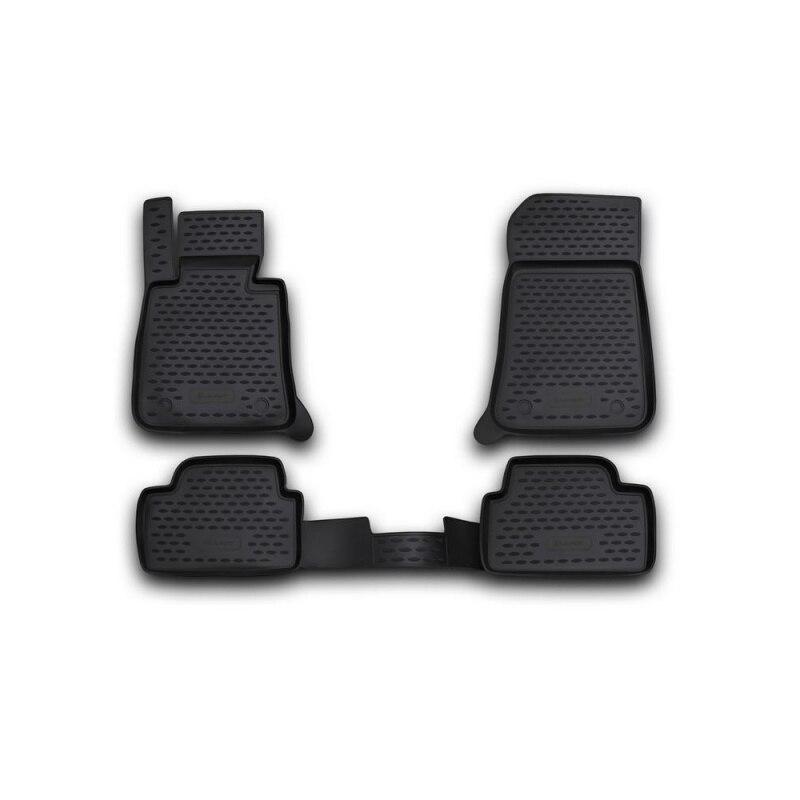 Carpet mats interior For BMW 1-5D 2004-2011, 4 PCs (polyurethane) недорго, оригинальная цена