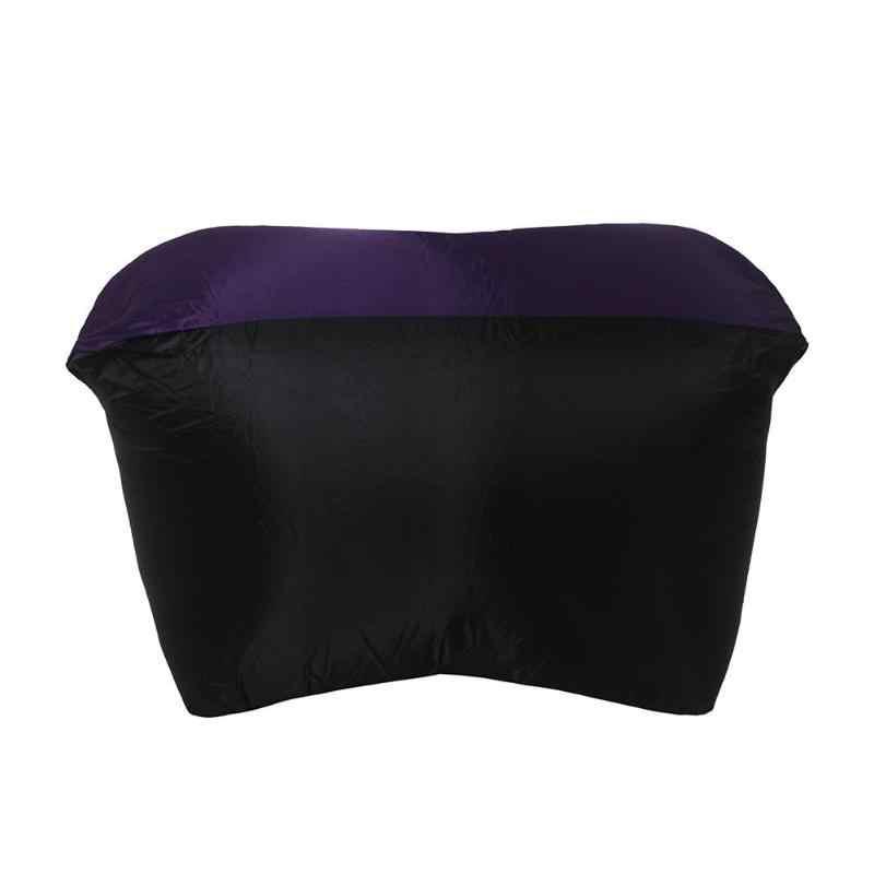 Inflável rápido Cadeira Sofá Preguiçoso saco De Dormir Ar Resto Acampamento Ao Ar Livre Rede Cadeira Cadeira de Praia Cama de Ar Portátil compressor de Ar
