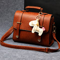 Cecelia Women Vintage Famous Brand Lady Handbag Casual Cute Horse Shoulder Bags Girls Message Bag