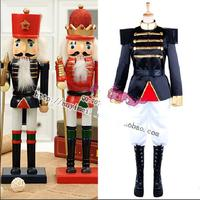 The Nutcracker Puppet Costume Adult Stage Costume Imperial Guard Uniform Military Uniform Adult Cosplay Costume
