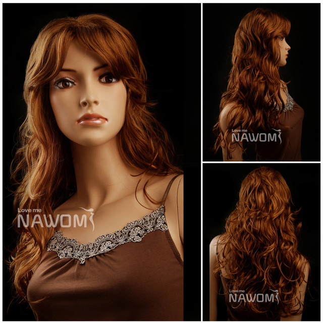 whosales long auburn wigs for black women curly women buy wig shops online  usa wigs synthetic that looks real hair weave aa3a380ac8