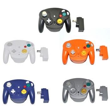 2,4 ГГц контроллер беспроводной геймпад джойстик для GameCube для N G C для wii