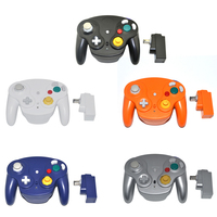 2 4GHz Bluetooth Controller Wavebird Wireless Gamepad Joystick For Nintendo For GameCube For NGC For Wii