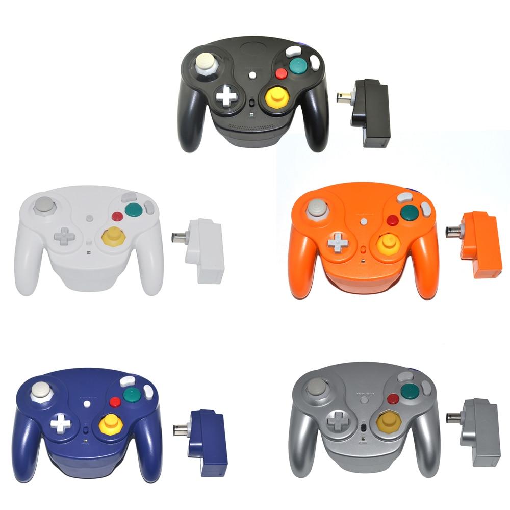 2,4 GHz kontrolieris Bezvadu gamepad vadības paliktnis GameCube for - Spēles un aksesuāri