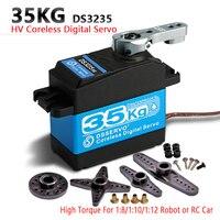 1X 35kg hohe drehmoment Kernlosen motor servo Metall getriebe digital und Edelstahl getriebe servo arduino servo für Roboter DIY,RC auto