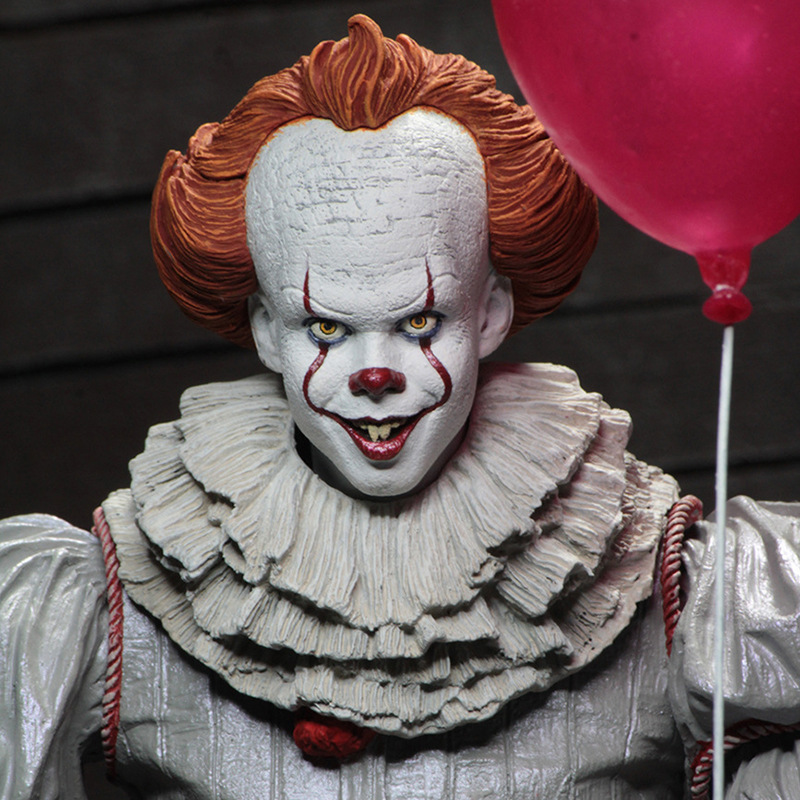 NECA scarry movie Stephen King 39 s It Pennywise Joker clown Action Figure Toys cosplay horror Street Freddy Dolls Halloween Day in Action amp Toy Figures from Toys amp Hobbies