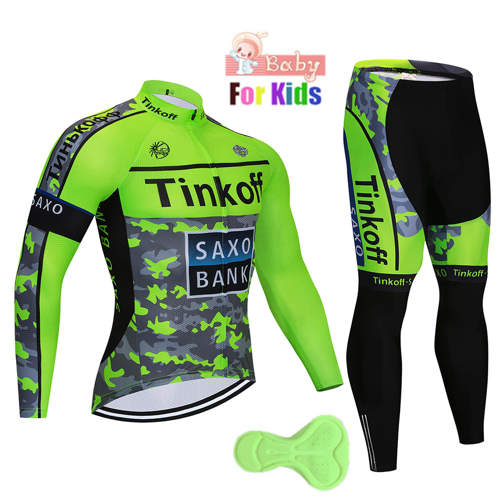Amicable 2018 Kids 2018 Autumn Cycling Jersey Long Sleeve Bicycle Cycling Clothing Bike Shirt Maillot Ropa Ciclismo Bib Pants Gel Pad Relieving Rheumatism And Cold Sports & Entertainment Cycling Sets
