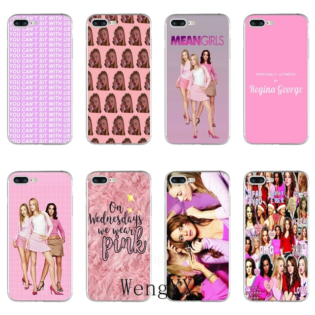 info for 79e2f 149c4 US $1.99 |mean girls Slim silicone TPU Soft phone case For iPhone X 8 8plus  7 7plus 6 6s plus 5 5s 5c SE 4 4s-in Half-wrapped Case from Cellphones & ...