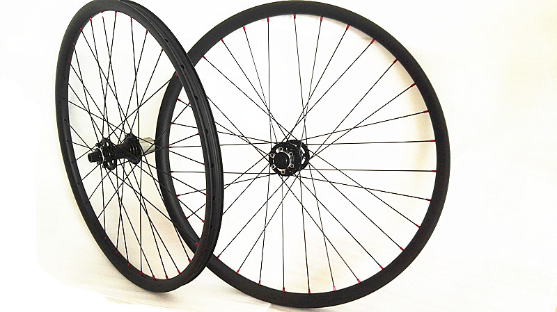650B Asymmetry carbon MTB wheels 27.5er mtb wheels MTB bike wheels UD matte width 40mm Mountain bicycle Asymmetry MTB wheelset factory direct mountain bike clincher wheelset 29 inch 27 5er carbon mtb wheels 29er 650b carbon mtb wheels tubeless rims