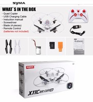 Syma X11C RC Drone with 2.0MP Camera HD 4CH 2.4GHz Helicopter Mini Aircraft Quad copter Brushless Motor Dron Gift for Children