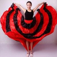 Women's cheap fashion Flamenco skirt Gypsy Flamenco Spain Belly Dancers Polyester Belly dance Skirts