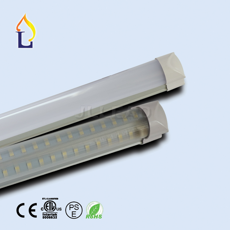 цены  15pcs/lot led T8 Integrated V shape tube light 40W 4ft 48W 5ft 60W 6ft/8ft 85-265V Led Tube Fixture For Home Lighting