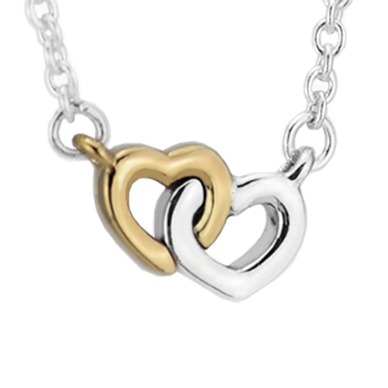 Pendentif et collier United in Love 100% bijoux en argent Sterling 925 livraison gratuitePendentif et collier United in Love 100% bijoux en argent Sterling 925 livraison gratuite