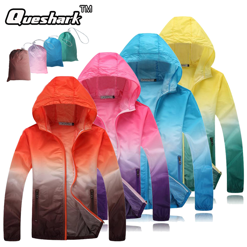 Running Jacket Skin-Coat Trekking Cycling Ultralight Fishing Outdoor-Sport Women Sun-Protective
