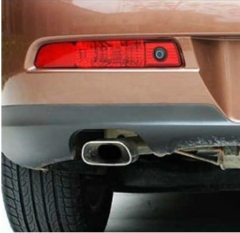 Reflector, LED Rear Bumper Light, rear fog lamp, Brake Light For Luxgen 7 tail light reflector one pair
