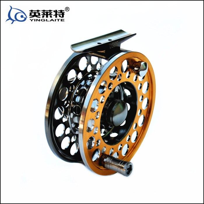 ФОТО Englaite LG85 full metal fly fishing reel wt 5/6