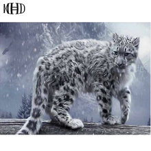 Bestseller Big Cat Pattern 5D Diy Diamond Embroidery Full Square Round Diamond Painting 3D Cross Stitch