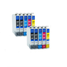 10x Full Ink 16XL Cartridge Replacement for T1631 T 1631 16 XL WF-2010W 2510WF 2520NF 2530WF 2540WF